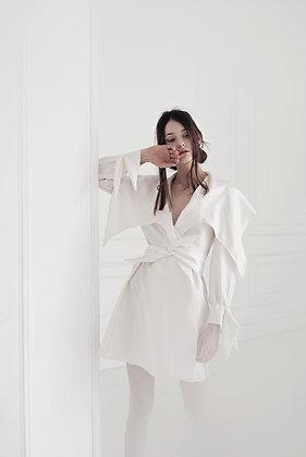 Silk spring coat