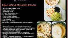 Food Makeover: Cran-Apple Chicken Salad