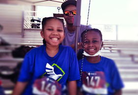 Camille Irby 9 - 10 (Left), Alanah Irby 7-8 (Right)
