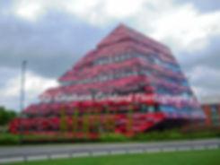 Yang Fujia Building, Nottingham University, Architecture, Red, Yang Fujia, Yang, Fujia, Nottingham, University, Modern, Modern Architecture, Building