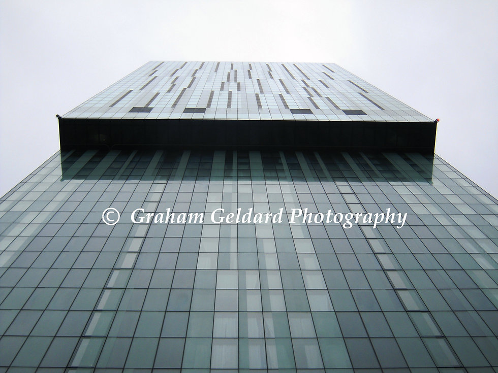 Architecture, Manchester, Hilton, Grey, Hotel, Shapes, Patterns, Windows, Window, Shape, Pattern, Skyscraper, Architecture Photography, Photography, Graham Geldard, Fine Art Photography, IconPhoto, Icon Photo, Icon