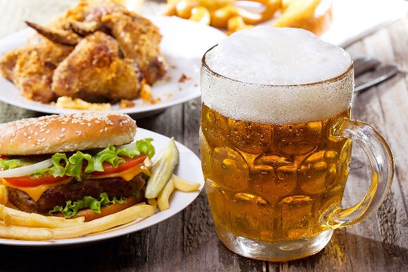Wings, Burger + Beer