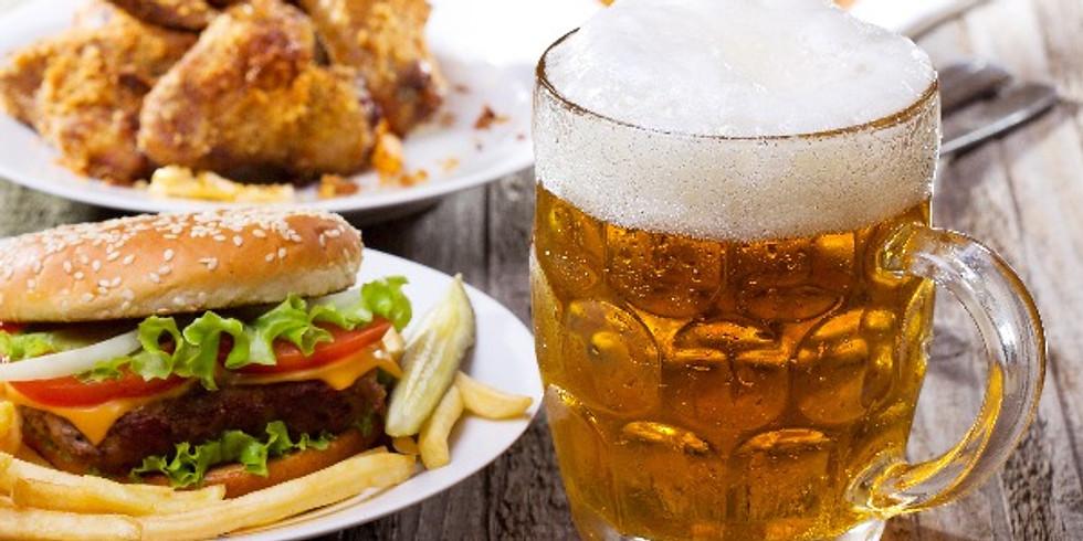Wings, Burger + Beer
