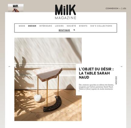 Milk Magazine - Janvier 2020