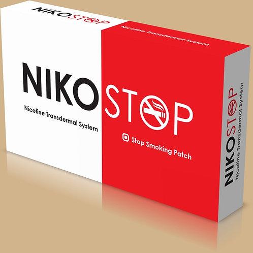 NikoStop N7 siqaret atmaq üçün  nikotin plastırları