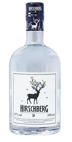 Hirschberg Gin 500ml Flasche