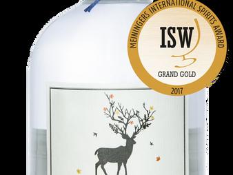 HIRSCHBERG GIN IST BESTER GIN NATIONAL 2017!