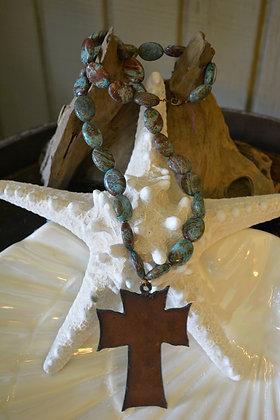 0085 Italian Turquoise Necklace