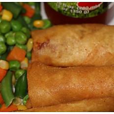 Beef/Chicken/Veggie egg roll