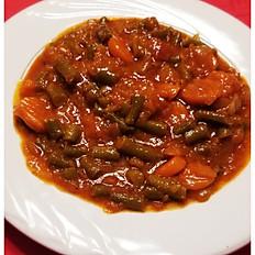 Veggie Sauce with white rice