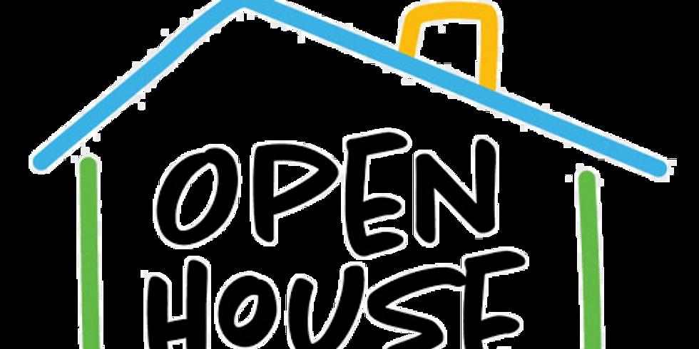 April 24 Open House
