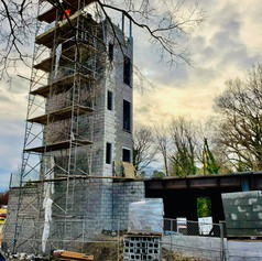 building stair tower