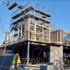 framing building corner