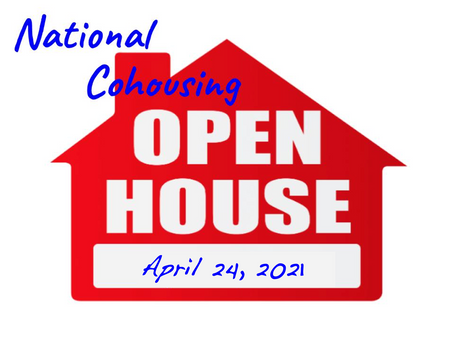 Triangle Cohousing Communities Band Together for Open House Day – April 24