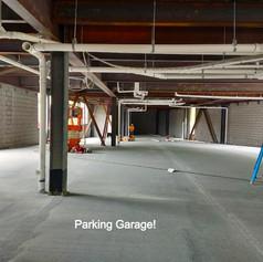 parking garage slab