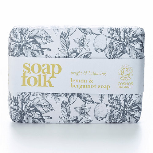 Soapfolk  - Lemon & Bergamot