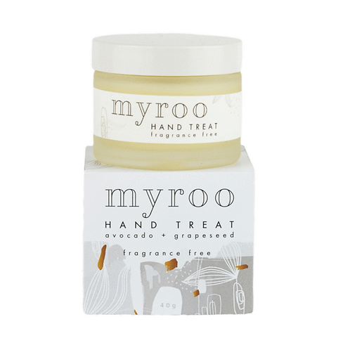 Myroo Skincare - Hand Treat Fragrance Free  40g
