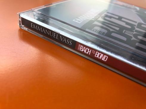 Bach to Bond album art 2013
