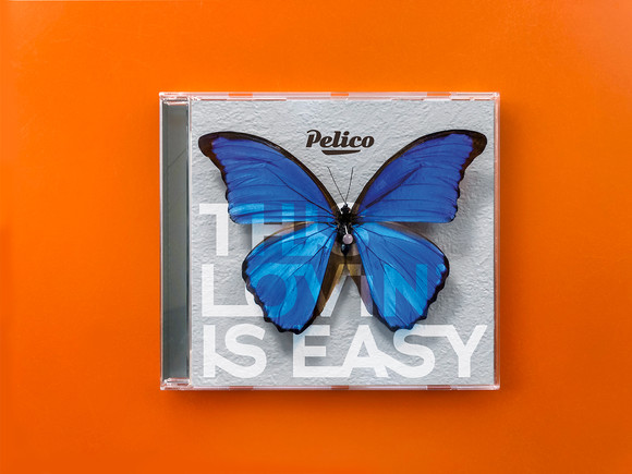 Pelico Lovin is Easy Single Art 2019