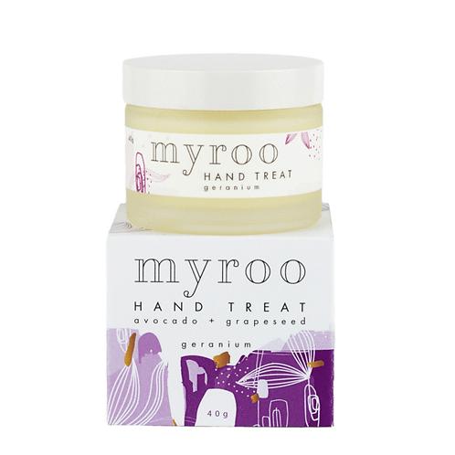 Myroo Skincare - Hand Treat -  Geranium 40g