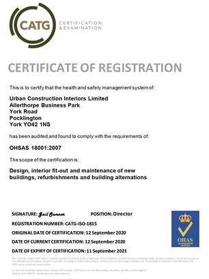 18001 Certificate 2020-21