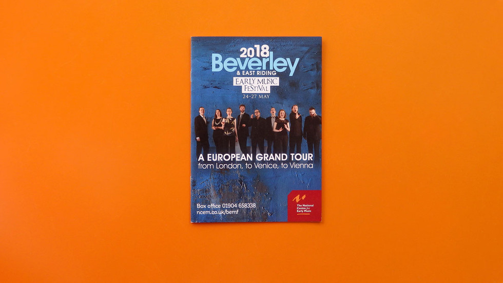 Beverley Early Music Festival 2018