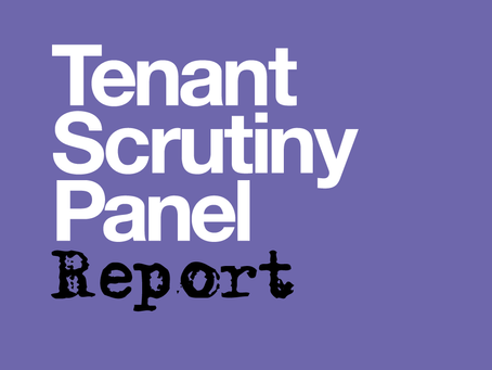Tenant Scrutiny Panel deliver report
