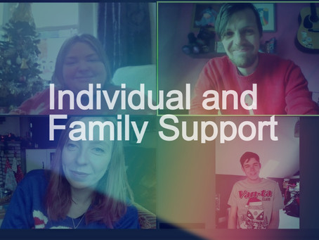 Phone / Family zoom Family 1 -1 arts transitions support