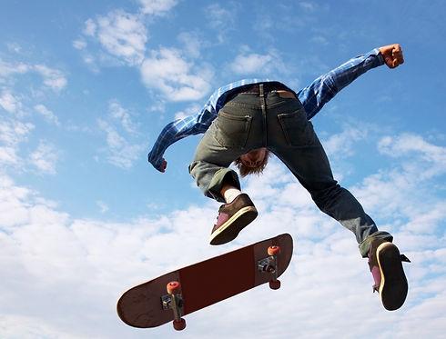 Photo of boy on a skateboard