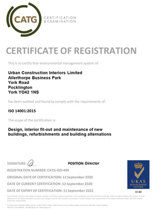 ISO14001 Certificate-2020-21