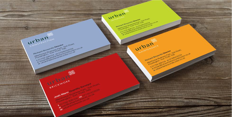 Urban Business cards 2016
