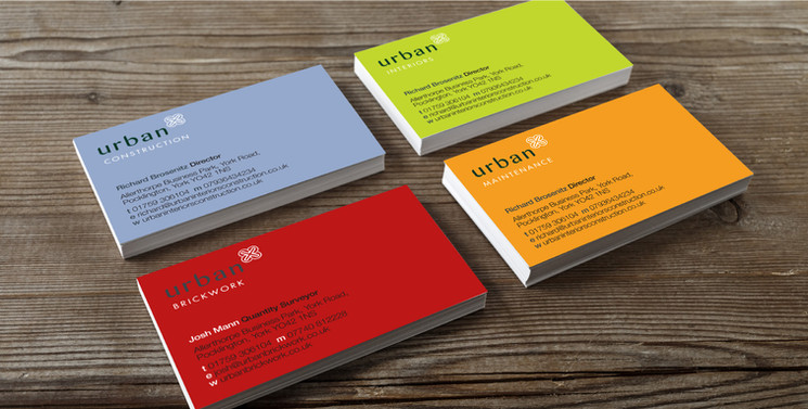 Urban Business cards 2016
