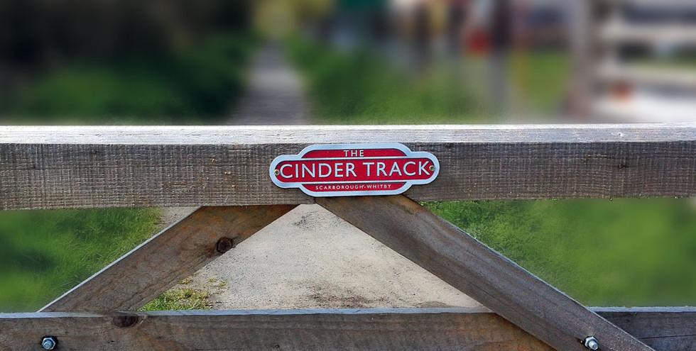 Cinder Track Route Signage 2010
