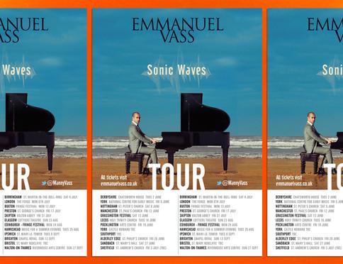 Emmanuel Vass Sonic Waves Poster 2015