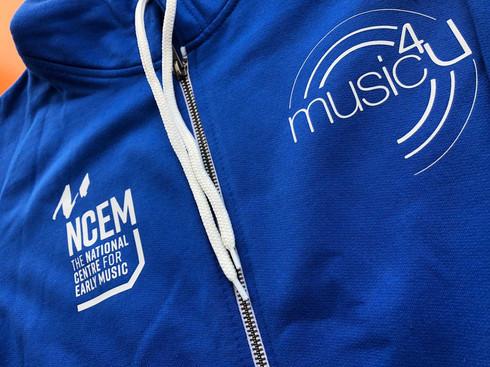 Music4u clothing - hoodie