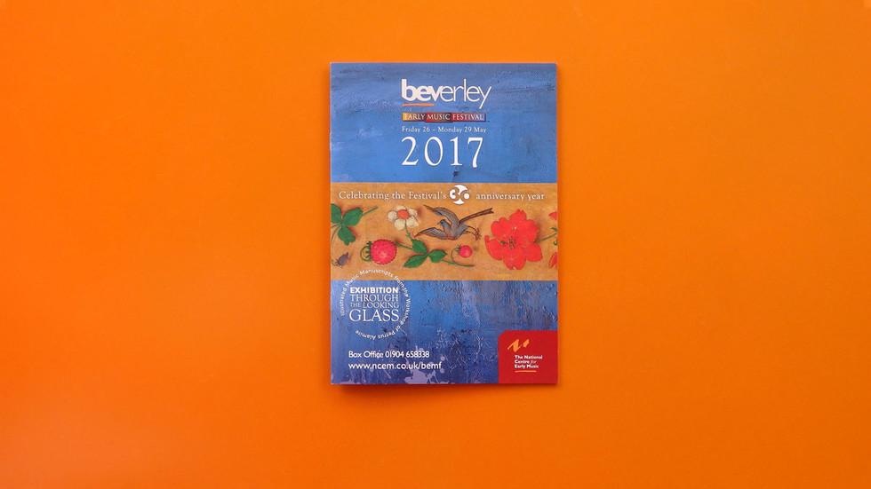Beverley Early Music Festival 2017.