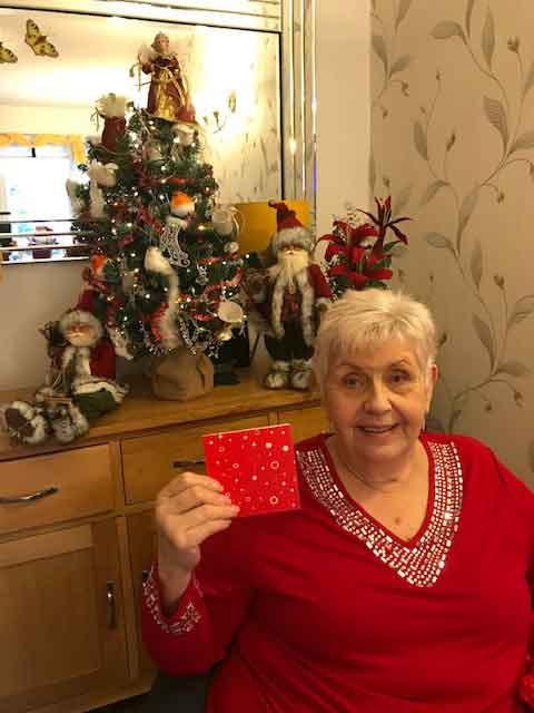 Beryl Briggs won a £100 gift card.