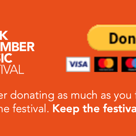 Keep the Festival Alive - please donate!