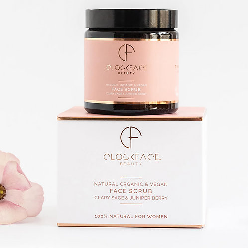 Clockface Beauty Face Scrub - Signature Collection for Women - 120ml