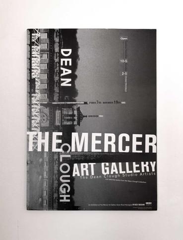 Mercer Art Gallery Poster 1995