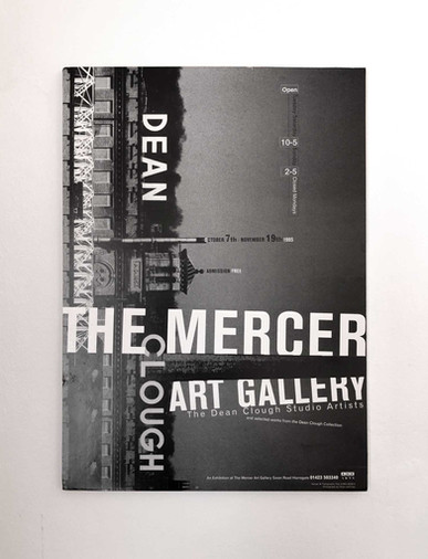 Mercer Art Gallery Poster 1995