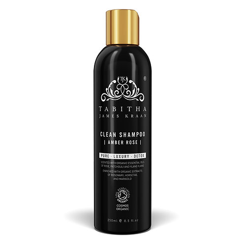 Tabitha James Kraan - Clean Shampoo-Amber Rose 250ml