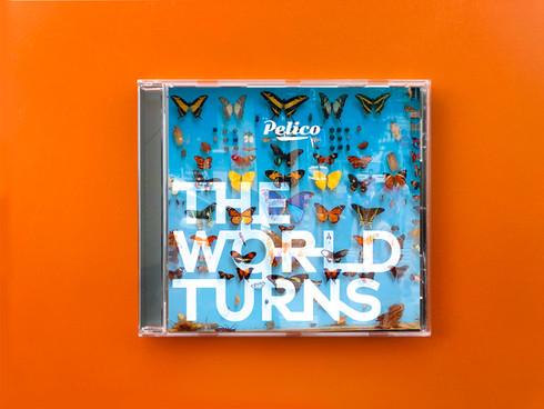 Pelico The Word Turns Album Art 2018