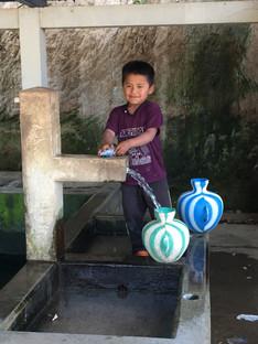 Young boy in Yalu