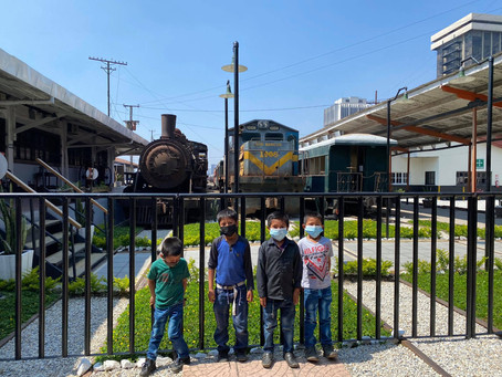 Field Trip to the Train Museum in Guatemala City