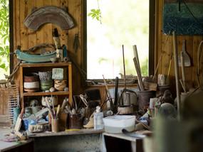 Jeff Mincham Studio - Interior