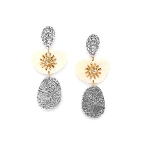Manoa Long Earrings