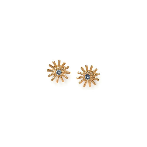 Iris Stud Earrings