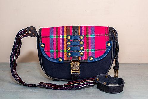 Clyde Sapa Saddle Bag-Fuxia