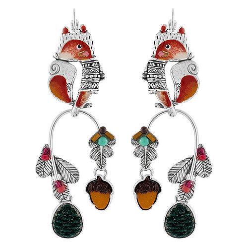 Casse Noisette Statement Hook Earrings